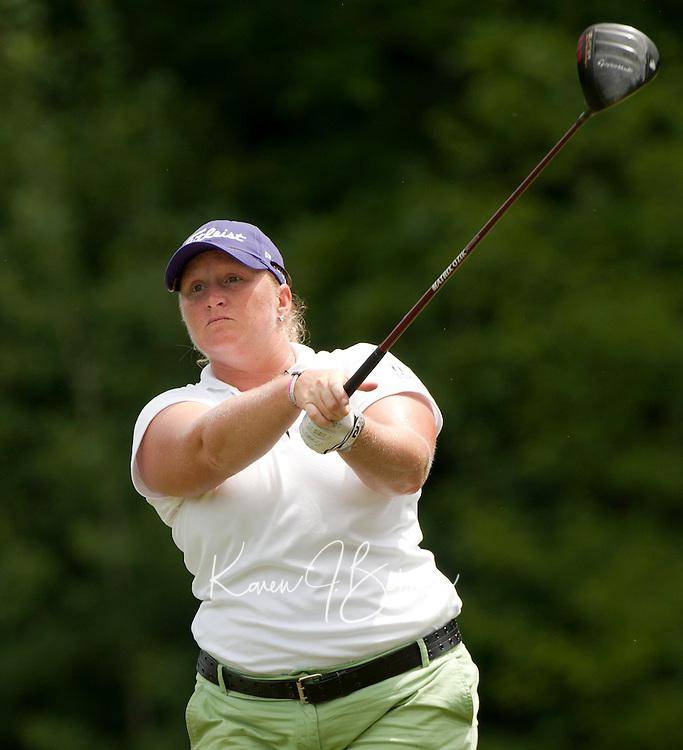 Meredith Duncan during LPGA Futures Tour Saturday, July 23rd.  (Karen Bobotas/for the Concord Monitor)