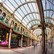 County Arcade, Victoria Quarter, Briggate Leeds, built between 1898 & 1900.