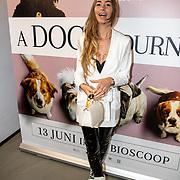 NLD/Amsterdam/20190612 - inloop filmpremiere A Dogs Journey, Romy Krommert