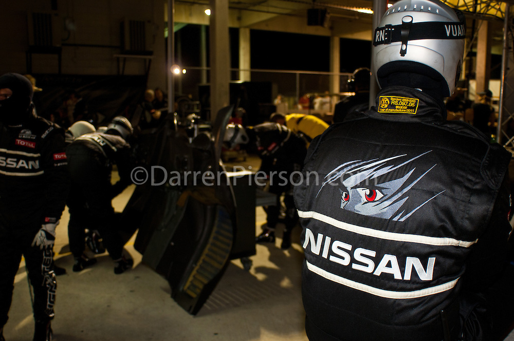#26 Signatech Nissan Oreca 03 Nissan: Franck Mailleux, Lucas Ordonez, Soheil Ayari