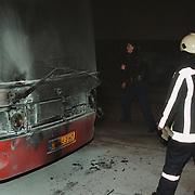 Brand bus Kabelweg Huizen