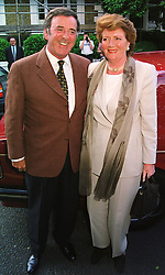 MR & MRS TERRY WOGAN he is the TV presenter, at a party in London on 25th June 1998.MIT 156