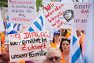 rail worker protest, Berlin 04.07.16