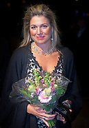 Queen Máxima attends Saturday, November 8, 2014 the Final Gala evening at the 10th International Fra