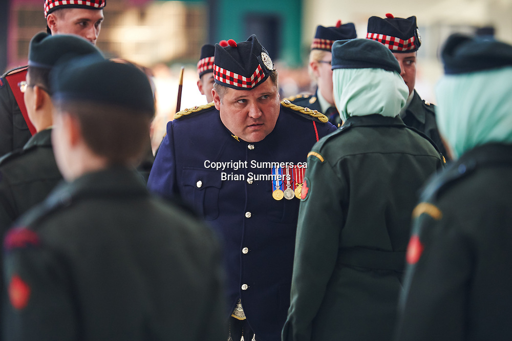 45th Annual Cadet Inspection 48th Highlanders