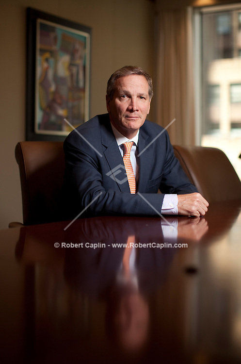 Alan Schwartz poses for a portrait in the Guggenheim Partners offices in New York, NY on Monday, June 1, 2009.