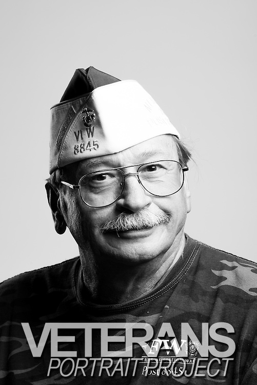 Johnny Guthard<br /> Marine Corps<br /> E-5<br /> Field Radio Operator<br /> Feb. 1971 - Feb. 1979<br /> Vietnam<br /> Saigon Evacuation<br /> <br /> Veterans Portrait Project<br /> St. Louis, MO