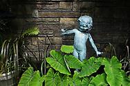 Statuette in the Fragrance Garden of the Brooklyn Botanic Garden