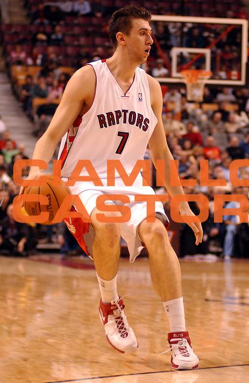 DESCRIZIONE : Toronto Campionato NBA 2006-2007 Toronto Raptors-Memphis Grizzilies<br />GIOCATORE : Bargnani<br />SQUADRA : Toronto Raptors <br />EVENTO : Campionato NBA 2006-2007 <br />GARA : Toronto Raptors Memphis Grizzilies<br />DATA : 08/03/2007 <br />CATEGORIA : <br />SPORT : Pallacanestro <br />AUTORE : Agenzia Ciamillo-Castoria/V.Keslassy<br />Galleria : NBA 2006-2007 <br />Fotonotizia : Toronto Campionato NBA 2006-2007 Toronto Raptors Memphis Grizzilies<br />Predefinita