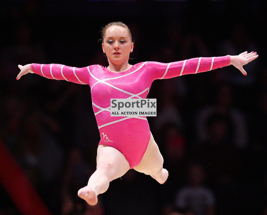 2015 Artistic Gymnastics World Championships being held in Glasgow from 23rd October to 1st November 2015.....Amy Tinkler (Great Britain) performs in the Floor Exercise in the Women's All-Round Final...(c) STEPHEN LAWSON | SportPix.org.uk