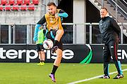 ALKMAAR - 19-10-2016, training persconferentie AZ, AFAS Stadion, AZ speler Muamer Tankovic, AZ trainer John van den Brom