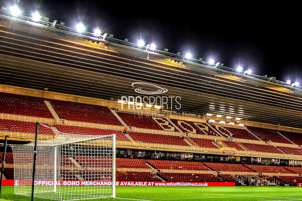 Riverside Stadium during the Sky Bet Championship match between Middlesbrough and Burnley at the Riverside Stadium, Middlesbrough, England on 15 December 2015. Photo by Simon Davies.