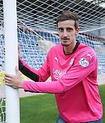 New Dundee goalkeeper Arvid Schenk at Dens Park<br /> <br />  - &copy; David Young - www.davidyoungphoto.co.uk - email: davidyoungphoto@gmail.com