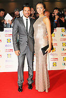 Peter Andre; Emily MacDonagh, Pride of Britain Awards, Grosvenor House Hotel, London UK, 07 October 2013, Photo by Richard Goldschmidt