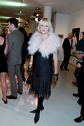 Comedienne HATTIE HAYRIDGE at the Macmillan De'Longhi Art Auction 2013 held at the Royal College of Art, London on 23rd September 2013.
