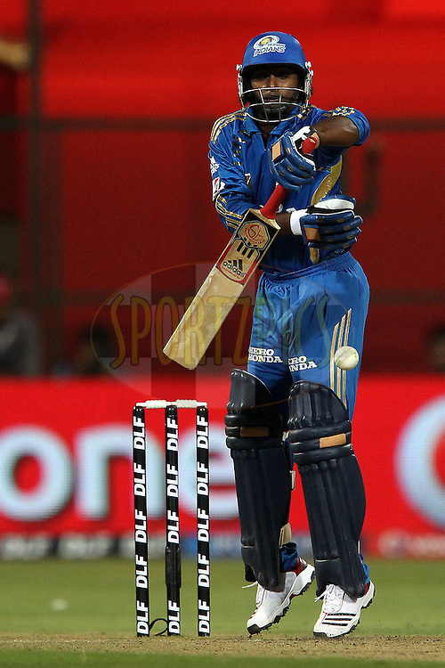 Ambati Rayudu during match 8 of the the Indian Premier League ( IPL ) Season 4 between the Royal Challengers Bangalore and the Mumbai Indians held at the Chinnaswamy Stadium, Bangalore, Karnataka, India on the 12th April 2011..Photo by Ron Gaunt/BCCI/SPORTZPICS
