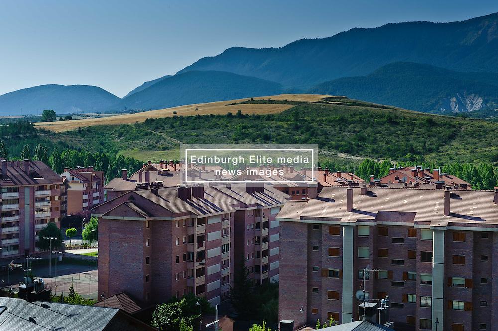 The city of Jaca in the heart of the Pyrenees<br /> <br /> (c) Andrew Wilson | Edinburgh Elite media