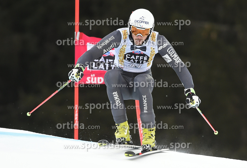 18.12.2016, Grand Risa, La Villa, ITA, FIS Weltcup Ski Alpin, Alta Badia, Riesenslalom, Herren, 1. Lauf, im Bild Steve Missillier (FRA) // in action during 1st run of men's Giant Slalom of FIS ski alpine world cup at the Grand Risa in La Villa, Italy on 2016/12/18. EXPA Pictures © 2016, PhotoCredit: EXPA/ Erich Spiess