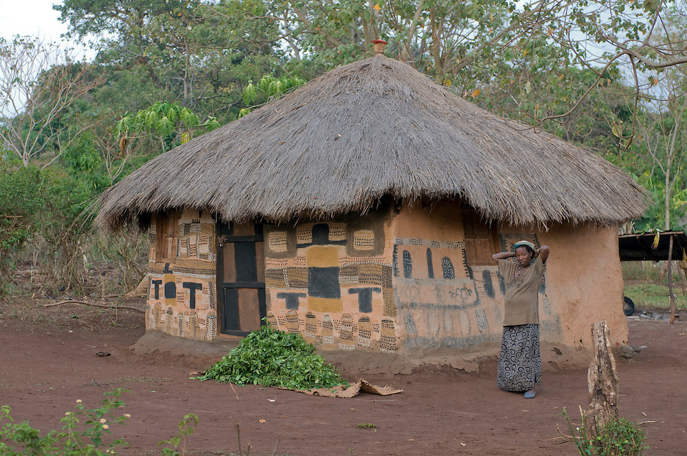 Traditional hut from the Ari tribe, Omovalley,Ethiopia,Africa
