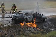 highway 6 car fire