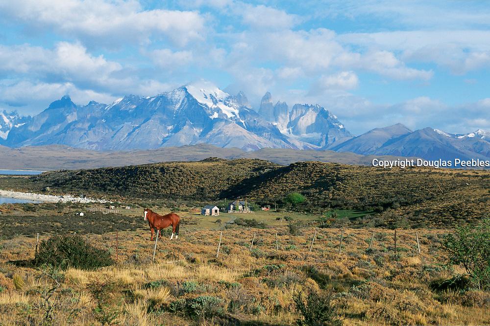 Estancia Las Cumbres, Parque Nacional Torres Del Paine, Patagonia, Chile<br />
