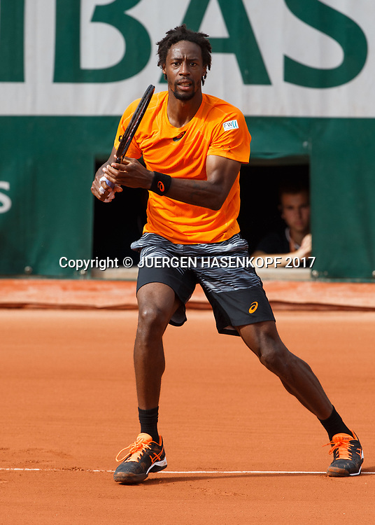 GAEL MONFILS (FRA)<br /> <br /> Tennis - French Open 2017 - Grand Slam ATP / WTA -  Roland Garros - Paris -  - France  - 30 May 2017.