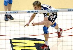 04-03-2006 VOLLEYBAL: FINAL 4 HEREN: PIET ZOOMERS D - ORTEC NESSELANDE: ROTTERDAM<br /> In een mooie halve finale werd Piet Zoomers D met 3-1 verslagen door Ortec Nesselande / Jelte Maan<br /> Copyrights 2006 WWW.FOTOHOOGENDOORN.NL