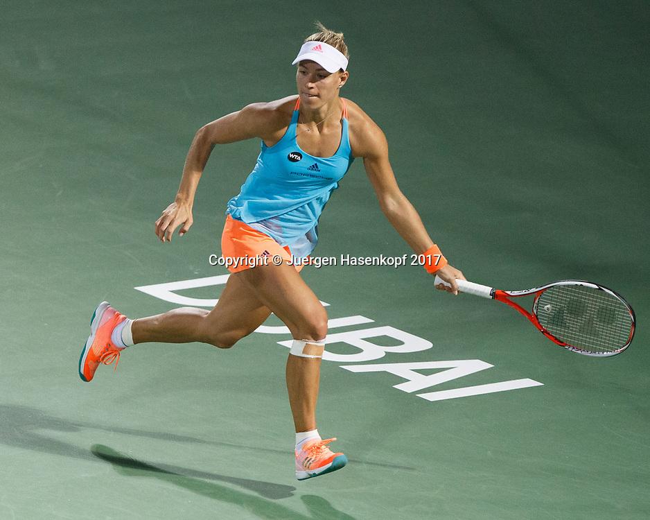 ANGELIQUE KERBER (GER)<br /> <br /> Tennis - Dubai Tennis Championships 2017 -  WTA -  Dubai Duty Free Tennis Stadium - Dubai  -  - United Arab Emirates  - 25 February 2017.