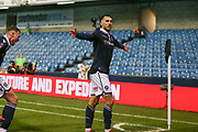 GOAL - Millwall forward Lee Gregory (9)  celebrates 1-1 during the The FA Cup fourth round match between Millwall and Everton at The Den, London, England on 26 January 2019.