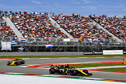 October 21, 2018 - Austin, United States - Motorsports: FIA Formula One World Championship; 2018; Grand Prix; United States, FORMULA 1 PIRELLI 2018 UNITED S GRAND PRIX , Circuit of The Americas#27 Nico Hülkenberg (Renault Sport F1 Team) (Credit Image: © Hoch Zwei via ZUMA Wire)