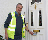 James Cashin celebrates 50 years a postman