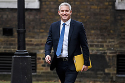 © Licensed to London News Pictures. 03/01/2019. London, UK. Brexit Secretary STEPHEN BARCLAY is seen arriving at 10 Downing Street flowing Christmas break. Photo credit: Ben Cawthra/LNP