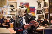 ALEXIS MILNE, Cultural Traffic, C U L T U R A L  T R A F F I C<br /> A New Print Publishing Arts Fair  7-8th October 2016 ,  Ju Ju's, Truman Brewery, London,