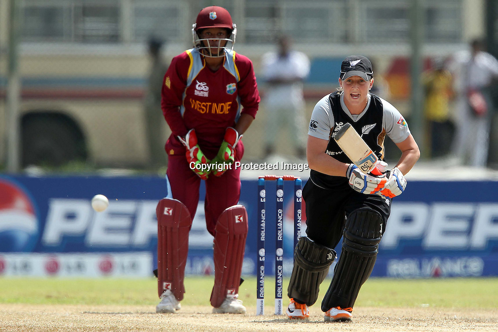 Sophie Devine during the ICC Women's World Twenty20 - between The West Indies and New Zealand held at the Galle International Stadium in Galle, Sri Lanka on the 26th September 2012<br /> <br /> Photo by Ron Gaunt/SPORTZPICS/PHOTOSPORT