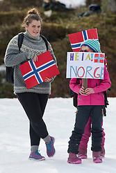Spectators, , Short Distance Biathlon, 2015 IPC Nordic and Biathlon World Cup Finals, Surnadal, Norway