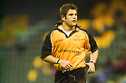 Wycombe. Buck's ENGLAND, Causeway Stadium.<br /> Zurich Premiership 11-11-2001<br /> London Wasps v Newcastle Falcons<br /> Tom May  [Mandatory Credit;Peter SPURRIER/Intersport Image]