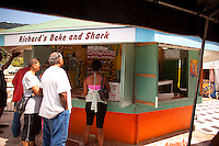 Richard's Shark and Bake, Trinidad and Tobago, Port of Spain. <br /> <br /> Photo by Robert Caplin