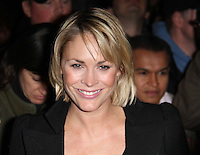 Jenni Falconer arrives for the Premiere of 'The Commuter' held at Aqua, London, UK, 25 October 2010: For piQtured Sales contact: Ian@Piqtured.com +44(0)791 626 2580 (picture by Richard Goldschmidt)