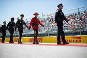 June 6-10, 2019: Canadian Grand Prix. Canadian soldiers