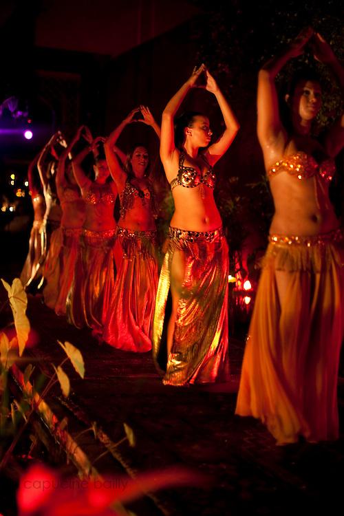 Marrakesh, Morocco. July 1st 2010..Jad Mahal Club.