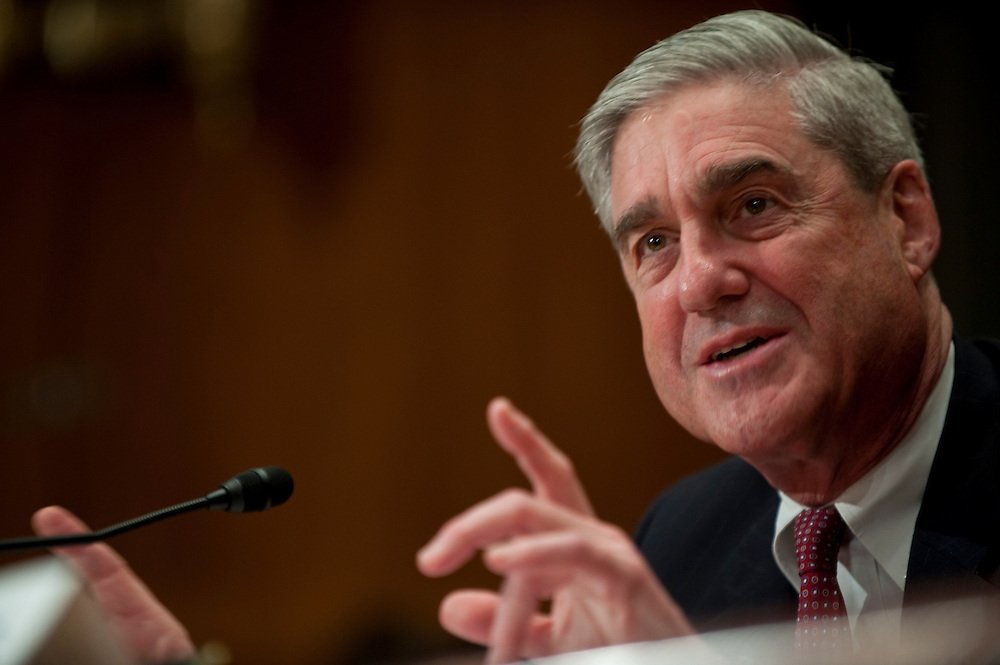 Apr 15,2010 - Washington, District of Columbia USA - FBI Director Robert Mueller testifies before the Appropriations Subcommittee on Commerce, Justice and Science during a hearing on the proposed 2011 budget for the Federal Bureau of Investigation.(Credit Image: © Pete Marovich/ZUMA Press)