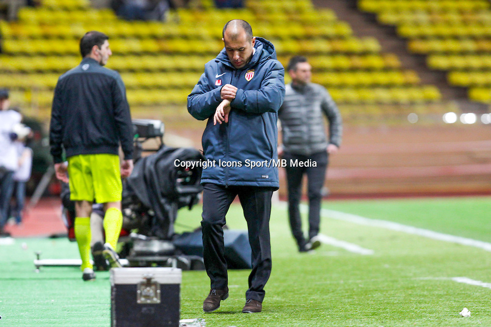 Leonardo JARDIM  - 14.01.2015 - Monaco / Guingamp - 1/4Finale Coupe de la Ligue<br /> Photo : Jean Christophe Magnenet / Icon Sport