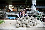At the Samarkand's food market
