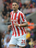 Football - 2016 / 2017 Premier League - Crystal Palace vs Stoke City<br /> <br /> Geoff Cameron of Stoke City at Selhurst Park<br /> <br /> <br /> Credit : Colorsport / Andrew Cowie