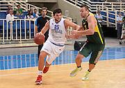 ATENE 27/08/2013<br /> AKROPOLIS CUP  ITALIA-LITUANIA<br /> NELLA FOTO ALESSANDRO GENTILE<br /> FOTO CIAMILLO