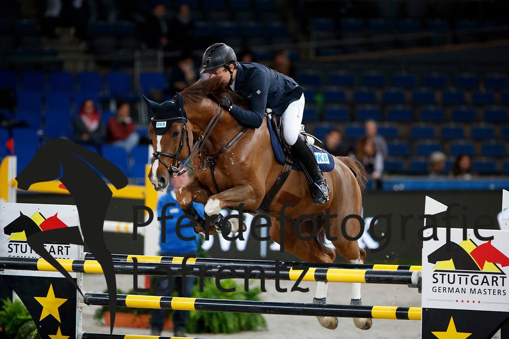 Kreuzer, Andreas (GER) Calvilot<br /> Stuttgart - German Masters 2016<br /> © www.sportfotos-lafrentz.de