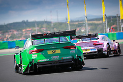 June 17, 2017 - Budapest, Hungary - Motorsports: DTM race Budapest, Saison 2017 - 3. Event Hungaroring, HU, # 77 Loic Duval (FRA, Audi Sport Team Phoenix, Audi RS5 DTM) (Credit Image: © Hoch Zwei via ZUMA Wire)