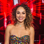 NLD/Hilversum/20180126 - The Voice of Holland 2017 show 1, Kimberley Maasdamme