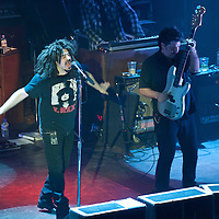 Counting Crows at The O2 Academy April 2013.<br /> Counting Crows is an American rock band from Berkeley, California, formed in 1991.[1] The band consists of Adam Duritz (lead vocals, piano), David Bryson (guitar), Charlie Gillingham (accordion, keyboards), Dan Vickrey (lead guitar), David Immergl&uuml;ck (guitar, banjo, mandolin), Jim Bogios (drums) and Millard Powers (bass). (PLEASE DO NOT REMOVE THIS CAPTION)<br /> This image is intended for portfolio use only.. Any commercial or promotional use requires additional clearance. <br /> &copy; Copyright 2014 All rights protected.<br /> first use only<br /> contact details<br /> Stuart Westwood <br /> 07896488673<br /> stuartwestwood44@hotmail.com<br /> no internet usage without prior consent. <br /> Stuart Westwood reserves the right to pursue unauthorised use of this image . If you violate my intellectual property you may be liable for damages, loss of income, and profits you derive from the use of this image.
