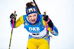 March 10, 2019 - –Stersund, Sweden - 190310 Linn Persson of Sweden during the Women's 10 km Pursuit during the IBU World Championships Biathlon on March 10, 2019 in Östersund. 10, 2019 in Östersund..Photo: Johan Axelsson / BILDBYRÃ…N / Cop 245 (Credit Image: © Johan Axelsson/Bildbyran via ZUMA Press)